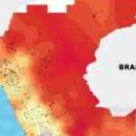 San Martín registró las temperaturas más altas