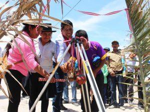 Ayacucho: Inauguran obra de saneamiento básico y alcaltarillado en Jesús Nazareno