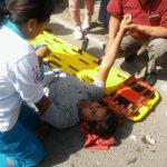 Ayacucho: Serenazgo de Jesús Nazareno atiende accidente de tránsito