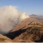 Bomberos extinguen incendio forestal en Apurimac