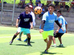 Devida masifica práctica deportiva en organizaciones juveniles de Satipo