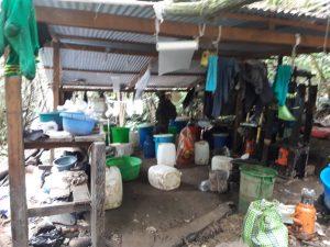 Destruyen laboratorio clandestino de elaboración de cocaína