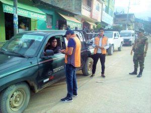Ejecutan operativo contra transporte informal en el Vraem