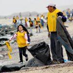 Eliminan toneladas de plástico que contaminaba mar limeño y chalaco