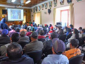 Huanta: Organizaciones comunales capacitadas en saneamiento rural