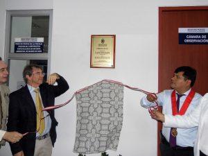 Madre de Dios: Ministerio Público inauguró cámara gesell