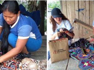 Jóvenes de comunidades nativas de Loreto recibieron kit emprendedor del MTPE