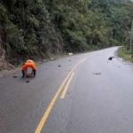 Junín: Rehabilitan tránsito en vía situada en Chanchamayo