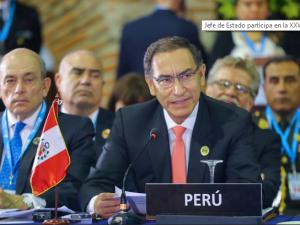 Presidente Martín Vizcarra invocó lucha regional contra la corrupción y violencia de género