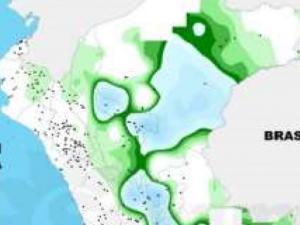 Mayor acumulado de lluvias se produjo en la región San Martín