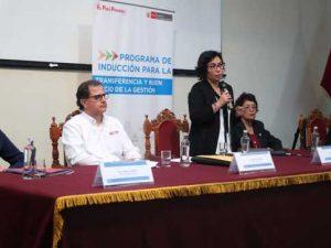Ministra Balbuena pide compromiso a autoridades electas para llegar al Bicentenario con un Perú mejor