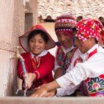 Inauguran obras por impuestos de agua y alcantarillado en Cusco
