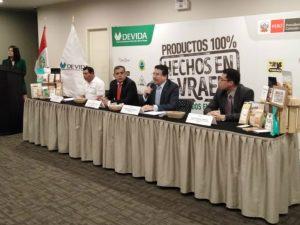 Presentan primeras 16 marcas de chocolate y café del Vraem registradas en Indecopi