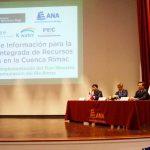 Presentan proyecto de moderno sistema de monitoreo del río Rímac