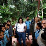 Supervisan mejora de la vía de acceso al lago Sandoval en la Reserva Nacional Tambopata