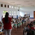 Tocache: Estudiantes participan en taller de prevención del tráfico ilícito de drogas
