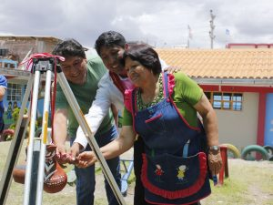 Ayacucho: Avanzan obras para construcción de nueva escuela en Jesús Nazareno