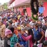 Ayacucho: Niños de Jesús Nazareno recibieron juguetes y chocolatada