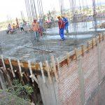 Ayacucho: Techan segundo nivel del palacio municipal en Jesús Nazareno