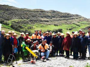 Cajamarca: Promueven mejoramiento ganadero en la comunidad Chaupiquinua