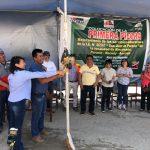 Valle Fortaleza: Colocan primera piedra de futuro colegio de Pararín que se ejecutará mediante obras por impuestos