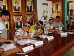 Comunidades nativas de siete regiones serán financiadas para conservar bosques