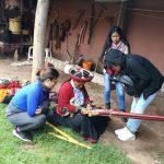 Cusco: Capacitan a jóvenes en técnicas ancestrales de cerámica, orfebrería y tejido