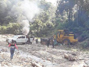 Destruyen campamentos de minería ilegal en Madre de Dios