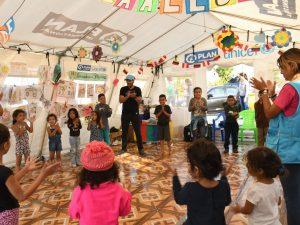 Los juegos de los niños y niñas migrantes: Más que diversión, una lección