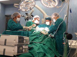 Operan con éxito a niño de Bagua que sufrió impacto de un trinche