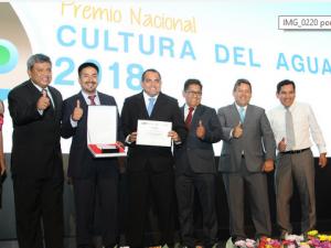 Reconocen a ganadores del Premio Nacional Cultura del Agua 2018
