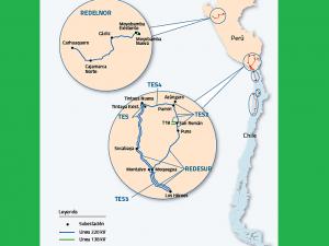 Red Eléctrica adquiere una nueva línea de transmisión en el norte del país