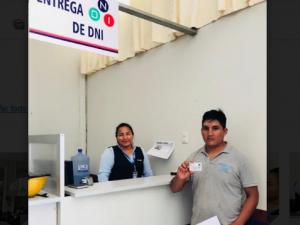 Reniec se encargará del registro civil de Tambopata