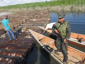 Ucayali: Detienen tala ilegal en la Reserva Comunal El Sira