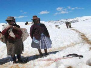 Unas 33 provincias en estado de emergencia por bajas temperaturas y déficit hídrico