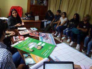 Adolescentes se reúnen con GORE Huánuco para que sus derechos sean mejor atendidos