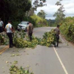 Culminan limpieza de la carretera Fernando Belaúnde