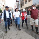Emergencia ambiental permitirá priorizar levantamiento de residuos sólidos en zona afectada por aniego en SJL
