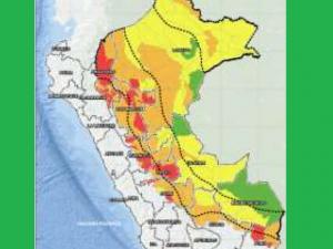 Hay riesgo muy alto de huaicos en 82 distritos selváticos