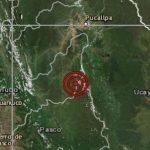 Huánuco: Sismo en Puerto Inca no reportó daños