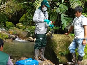Loreto: ANA toma muestras en zona de derrame de petróleo