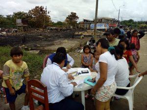 Loreto: DNI gratis para damnificados por incendio