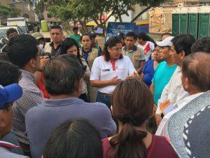 Minam recomienda a damnificados por aniego desechar artículos contaminados por aguas residuales