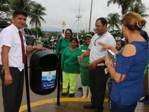 Puerto Maldonado contará con más papeleras urbanas
