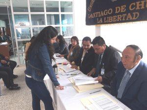 UGEL Santiago de Chuco culminó primera etapa de adjudicación docente
