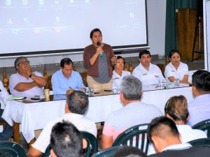 Voluntad política de priorizar la agricultura en San Martín