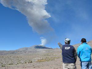 Instituto Geofísico del Perú vigilará volcanes de Ayacucho, Moquegua y Tacna