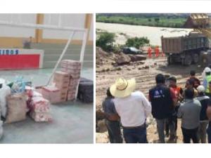 Arequipa: Llevan ayuda humanitaria a población afectada en Aplao