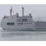 B.A.P. Pisco partió con 500 toneladas de carga hacia el sur