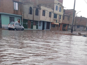 Chiclayo en emergencia por lluvias